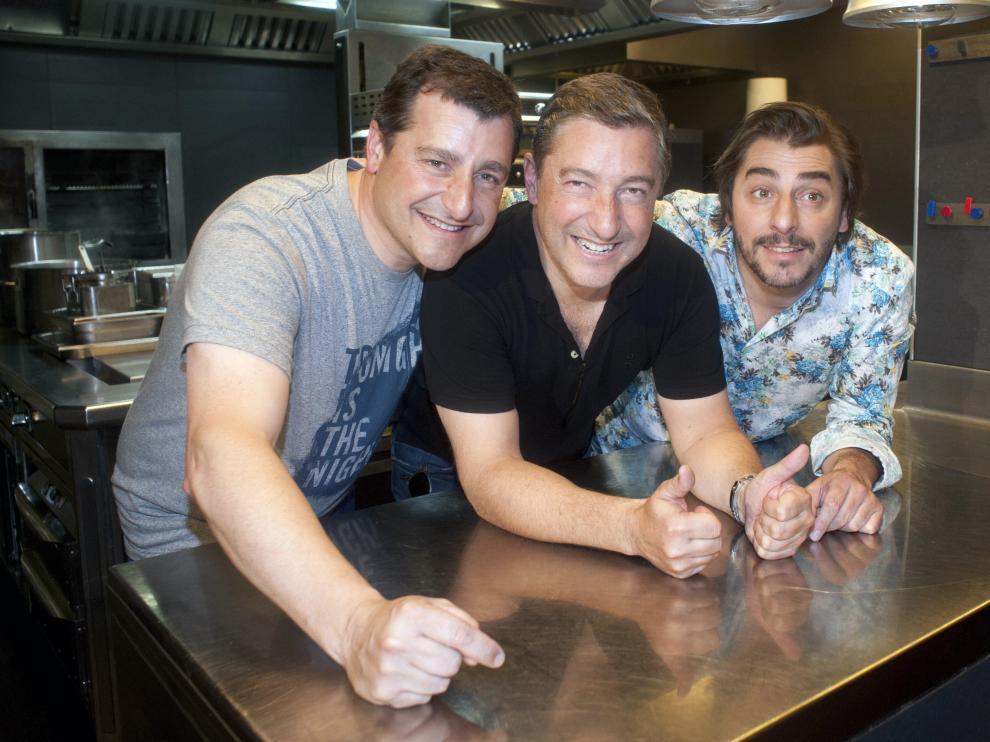 Los tres hermanos propietarios del mejor restaurante del mundo en 2015, 'El Celler de Can Roca'.