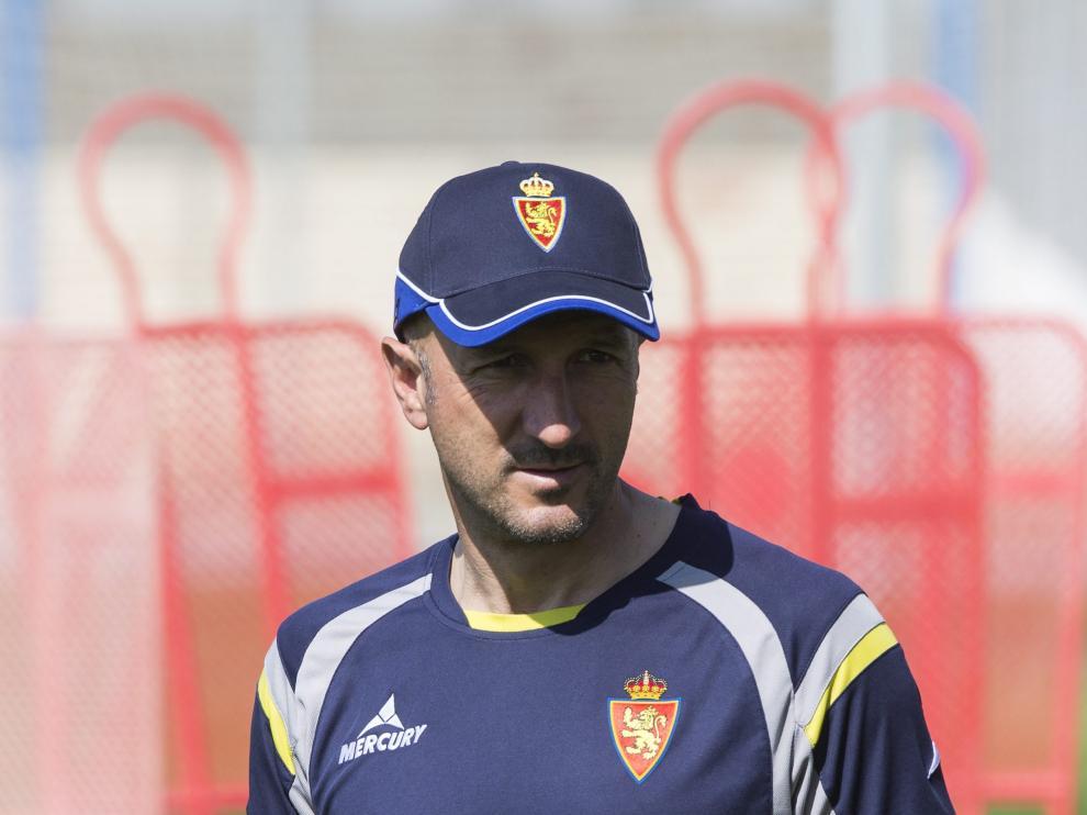 El entrenador del Real Zaragoza, Ranko Popovic.
