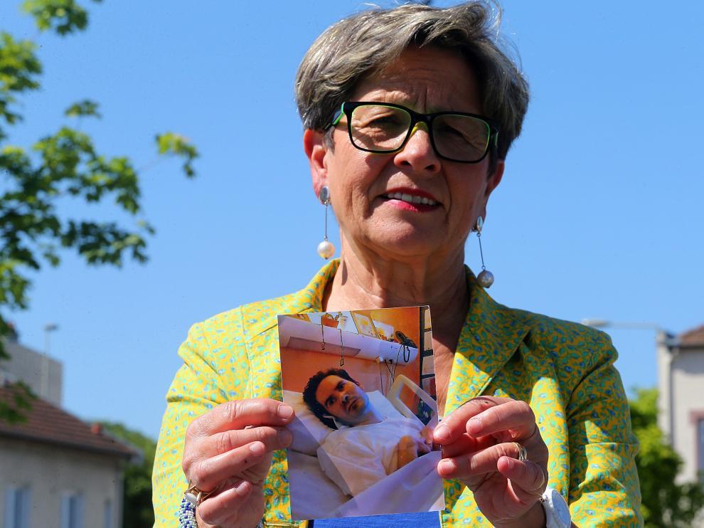 Madre de Vincent Lambert, el francés tetrapléjico en estado vegetativo
