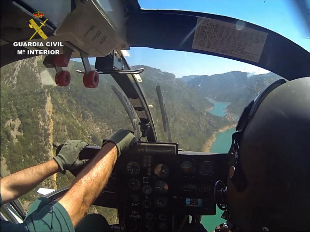 La Guardia Civil realiza seis rescates este fin de semana en zonas del Pirineo Aragonés
