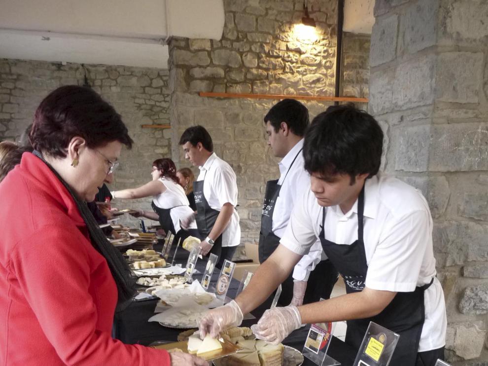 El certamen de los mejores quesos de Aragón se celebrará en Biescas.