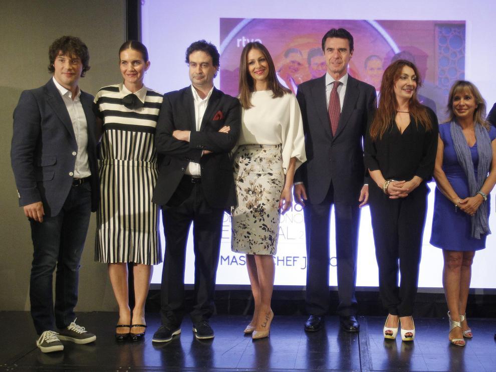El equipo del programa 'MasterChef Júnior'.