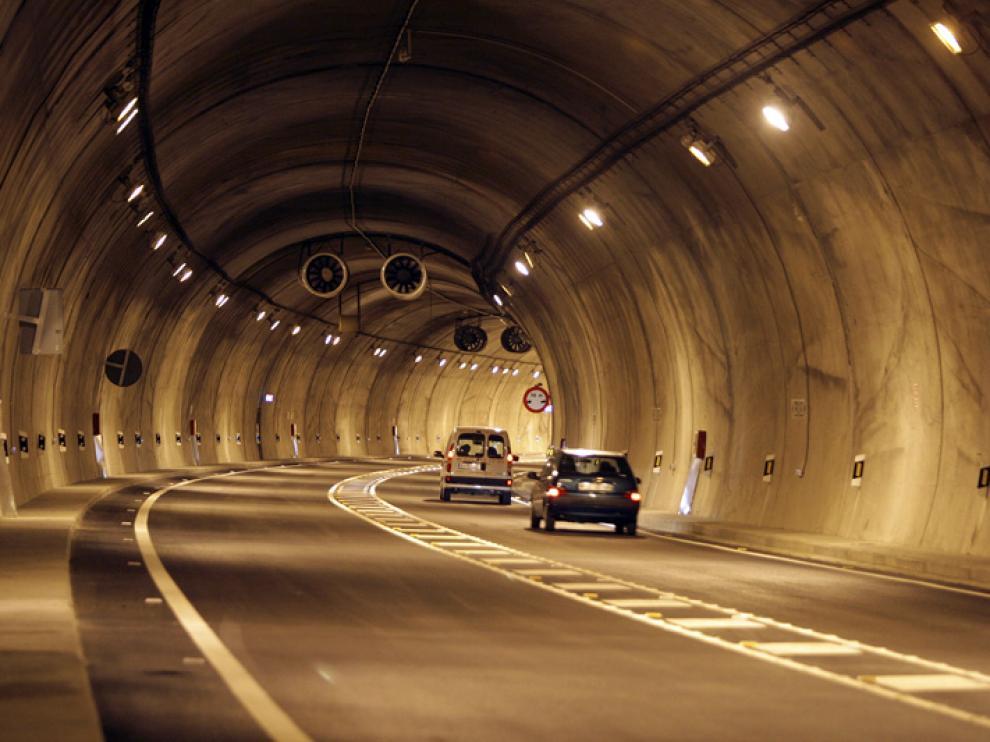 El túnel de Piqueras, en una foto de archivo