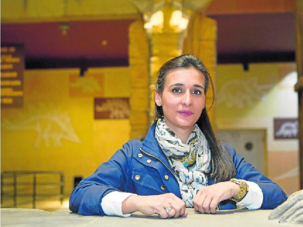 "Higinia Navarro: ""mi vida ha crecido a la vez que Dinópolis"""