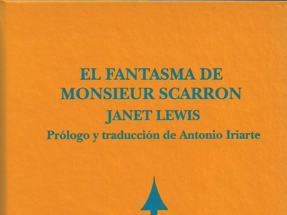Portada de 'El fantasma de Monsieur Scarron'.