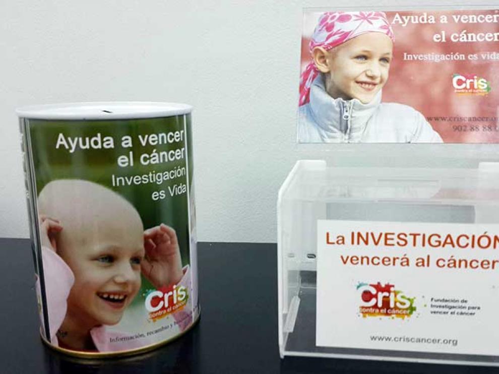 Huchas solidarias para apoyar la investigación contra el cáncer