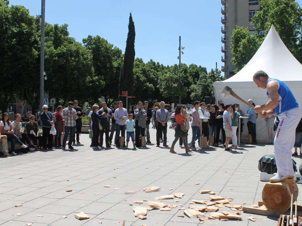 Imagen de una actividad promocional realizada por Destinos Euskadi en otra ciudad.