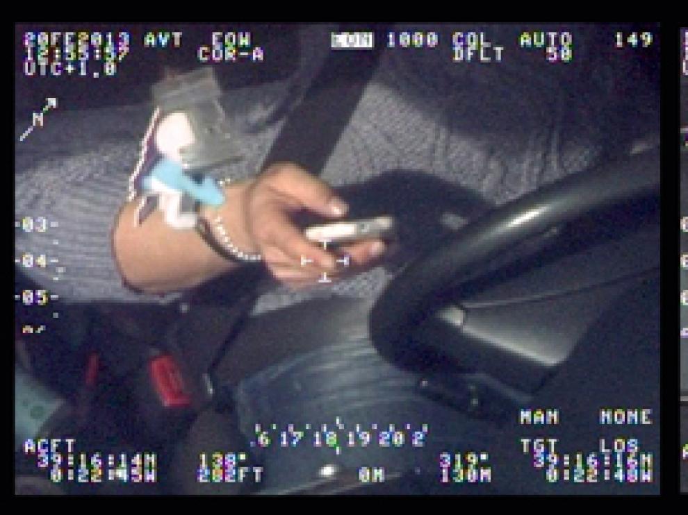 Los helicópteros detectan cientos de casos de distracciones al volante