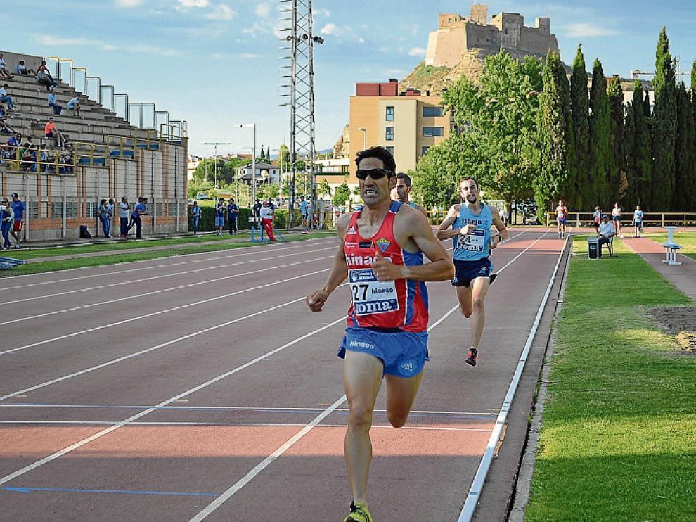 Eliseo Martín, en la prueba de 3.000 metros.