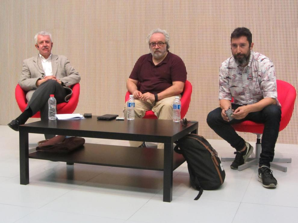 Gorka Zumeta, Chuse Fernández y Toni Garrido