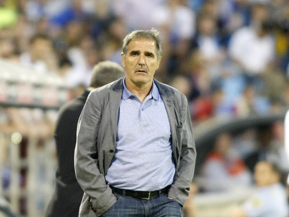 Paco Herrera, técnico del Las Palmas.