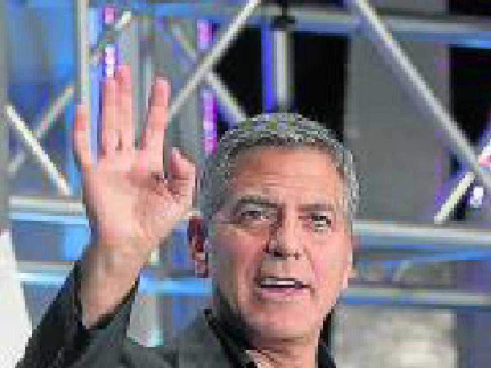 """George Clooney: """"crecí convencido de que uno puede cambiar el mundo si se involucra"""""""