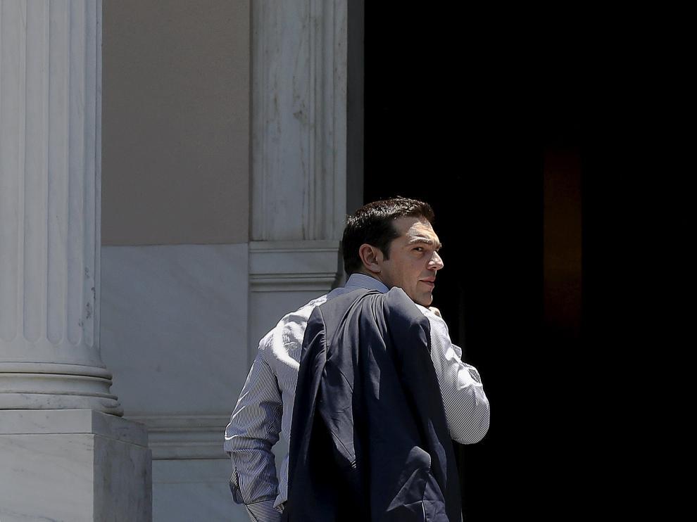 ?Alexis Tsipras este sábado en Atenas