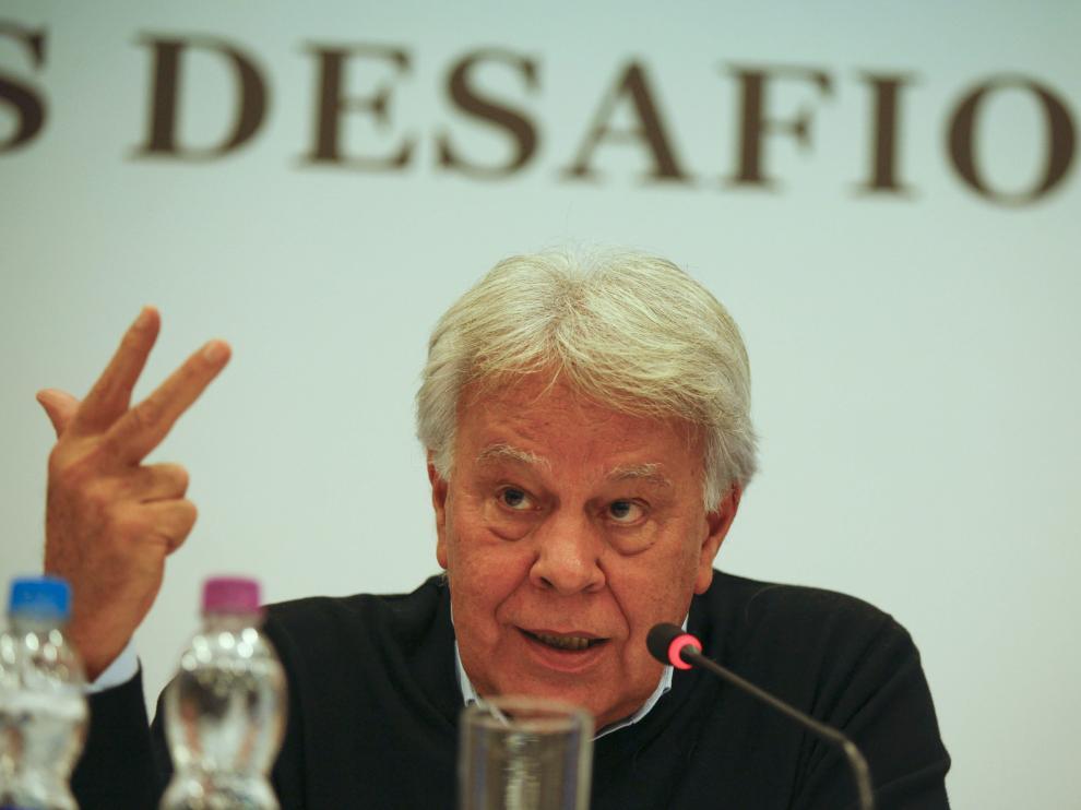 El expresidente del Gobierno español Felipe González.