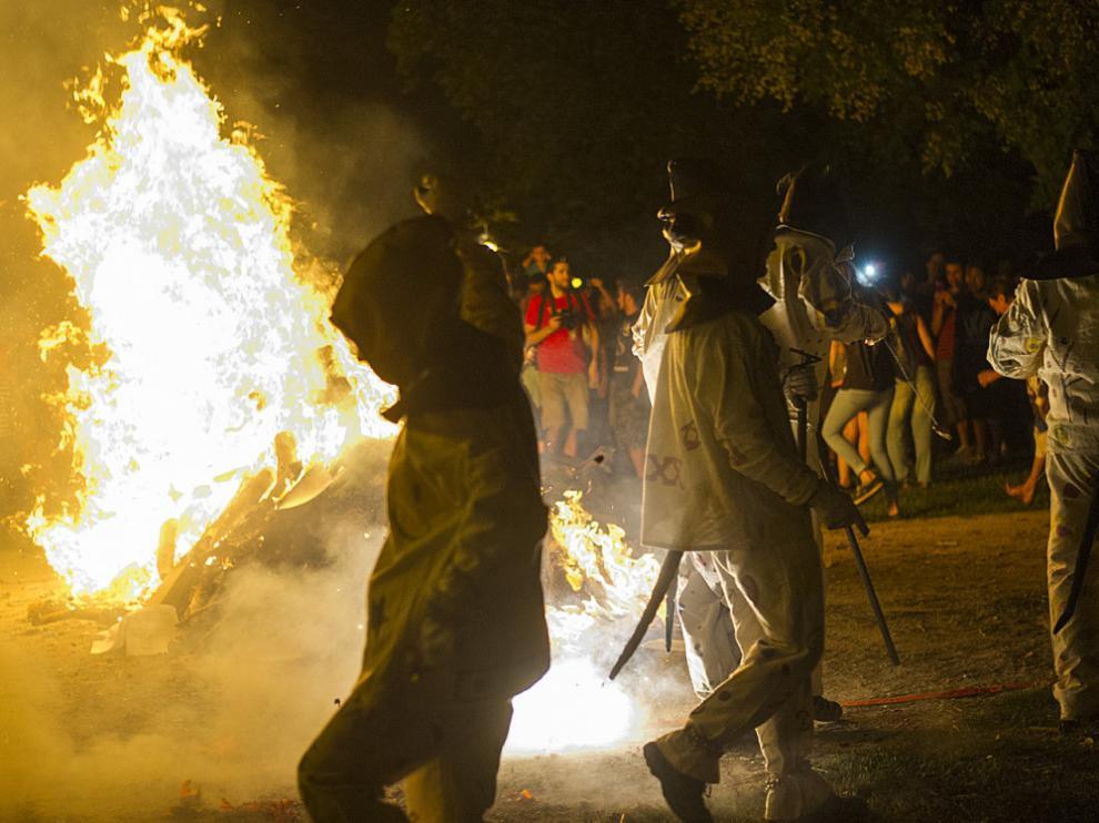 Zaragoza se prepara para vivir la noche de San Juan