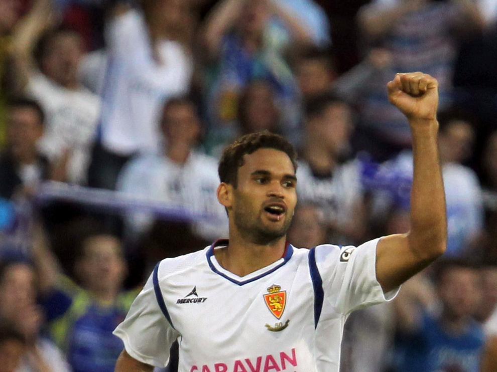 El delantero brasileño del Real Zaragoza Willian José.