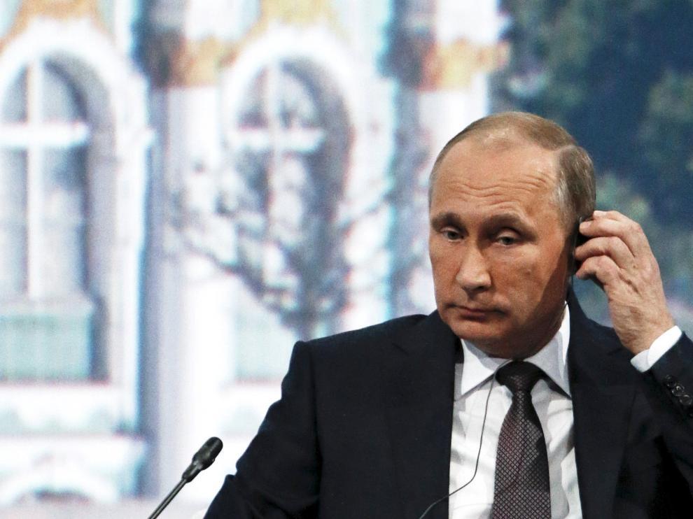 Putin durante una aparición reciente.