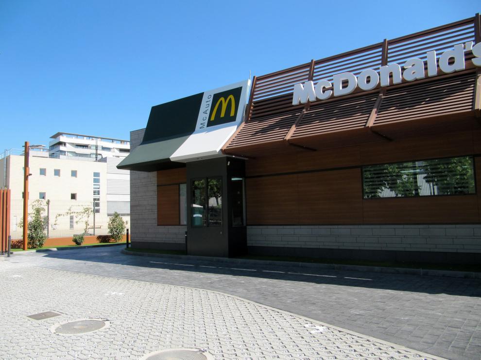 McDonald's de La Azucarera en Zaragoza.