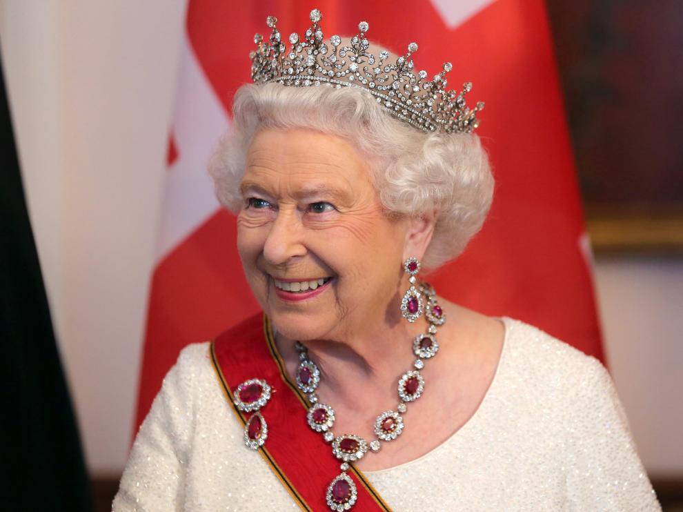 La reina Isabel II de Inglaterra en una imagen de archivo.