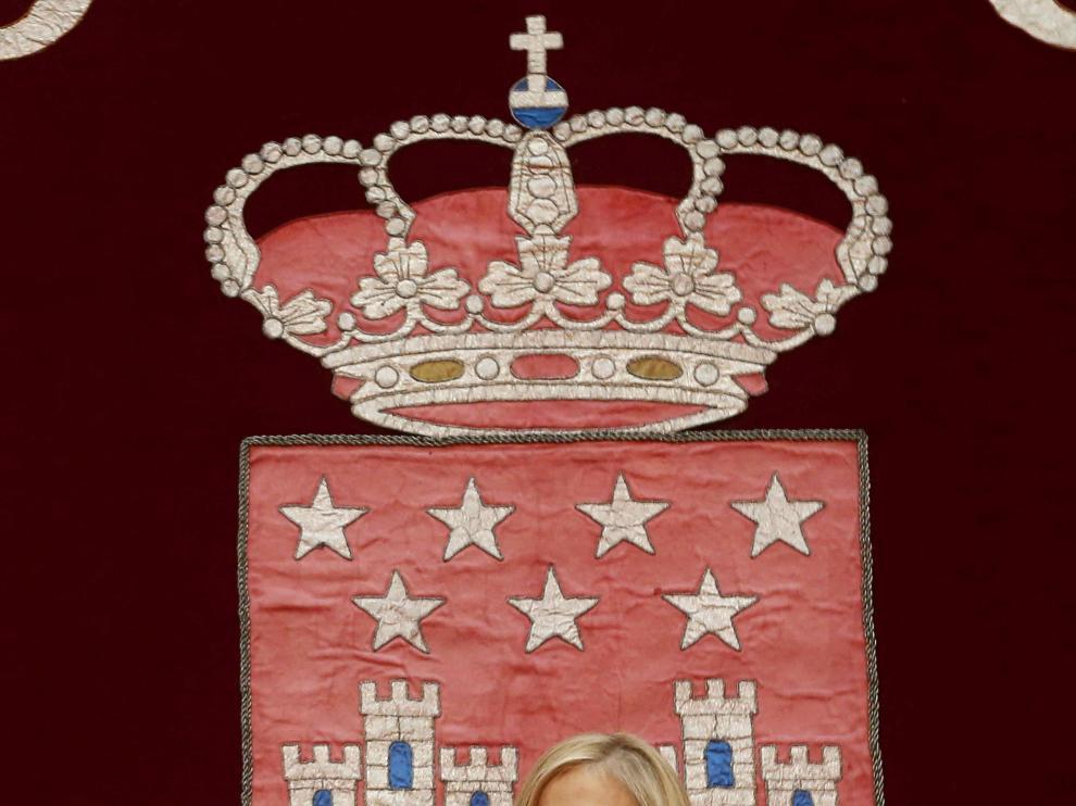 La nueva presidenta de la Comunidad de Madrid, Cristina Cifuentes.