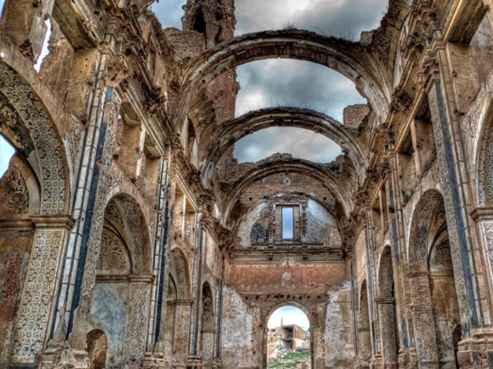 Iglesia del Pueblo Viejo de Belchite.