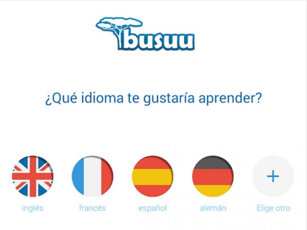 Busuu permite el acceso a la plataforma desde cualquier dispositivo móvil.