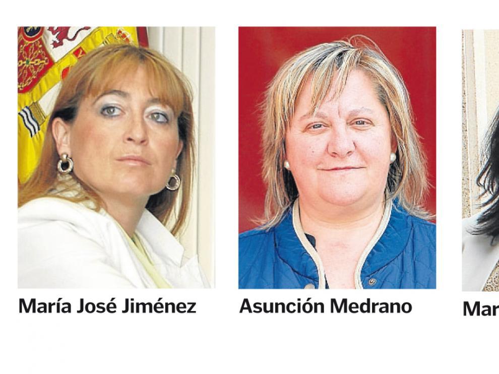 Cuatro de las alcaldesas sorianas