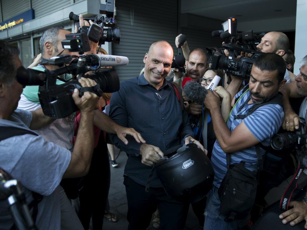 ?Varoufakis este miércoles.