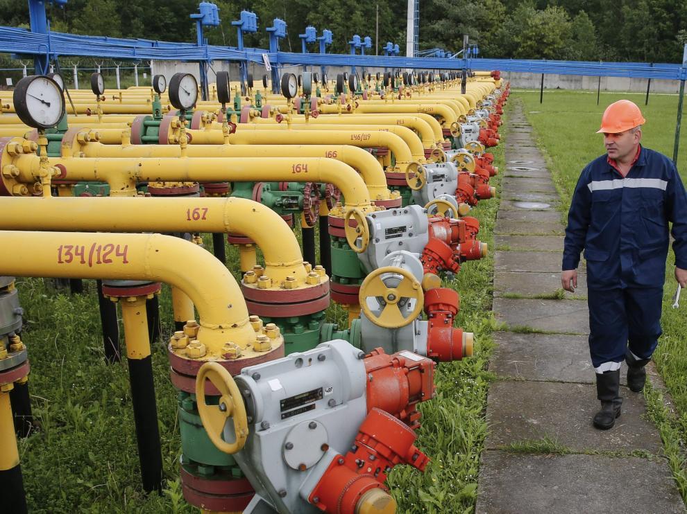 """La Comisión Europea aseguró que el suministro de gas a Ucrania y la UE """"no está en peligro""""."""