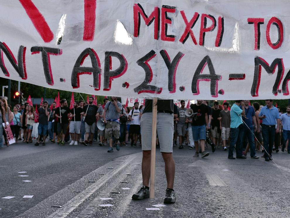 Los griegos están llamados a las urnas el próximo domingo para decidir si aceptan o no la propuesta europea.