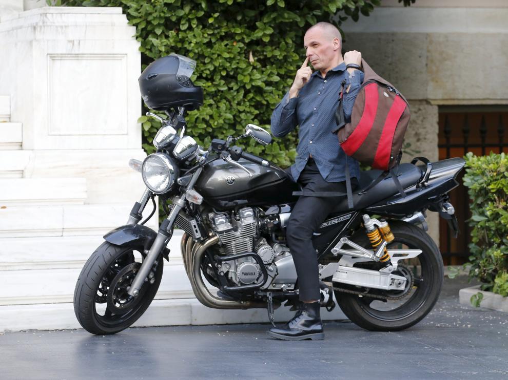El ministro griego de Finanzas, Yanis Varoufakis