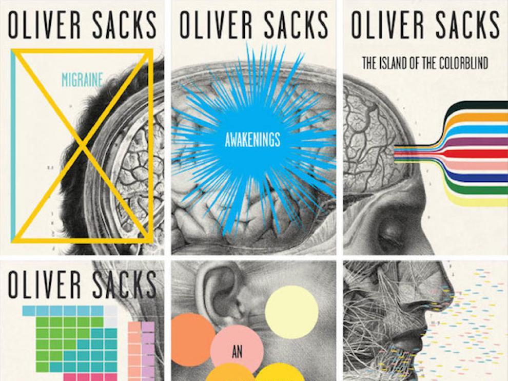 Portadas puzzle de Oliver Sacks