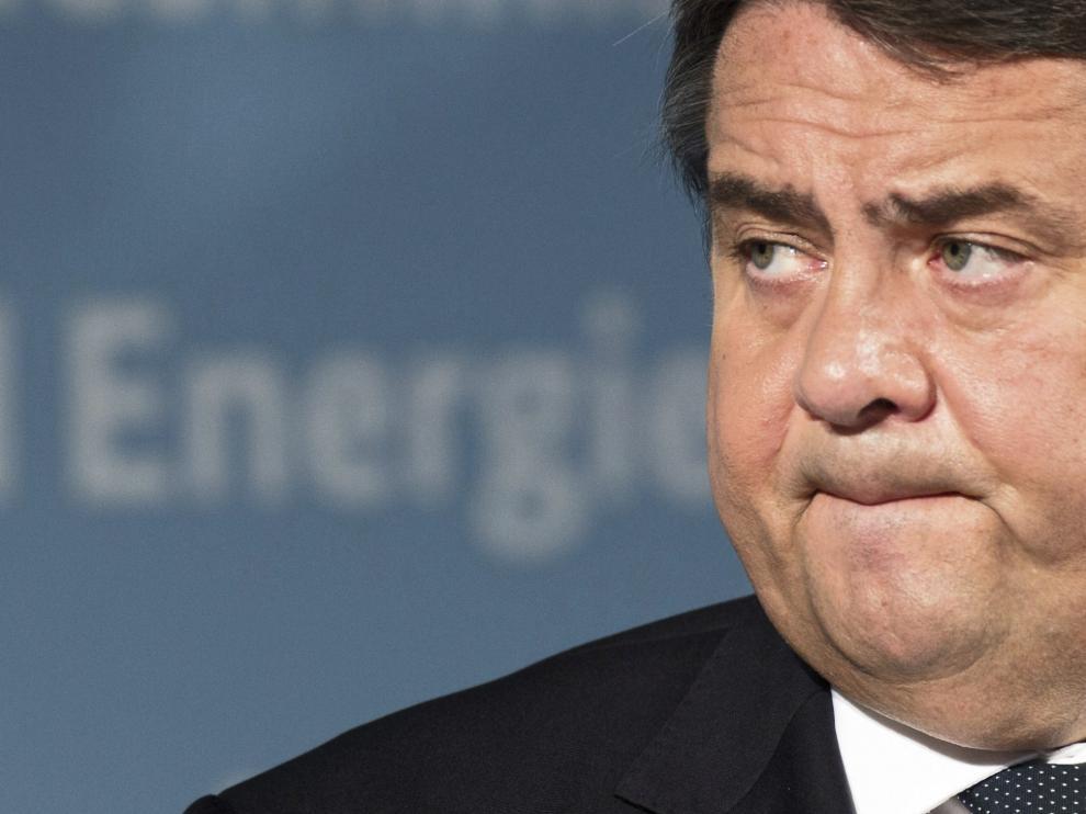 El ministro de Economía alemán, Sigmar Gabriel.