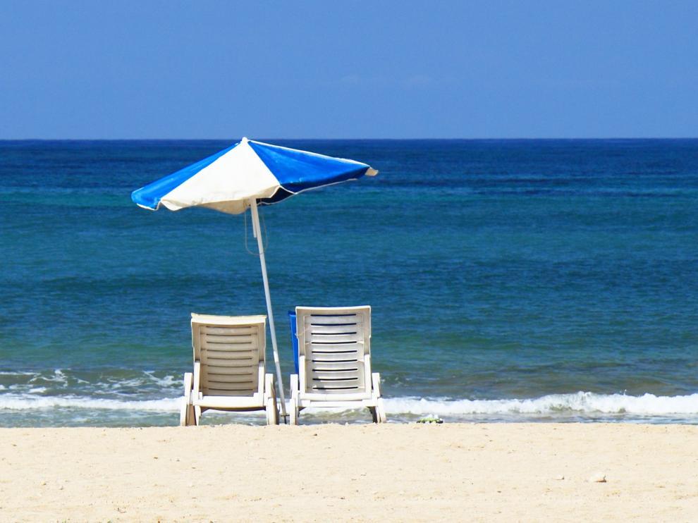 Hay playas con distintos azules