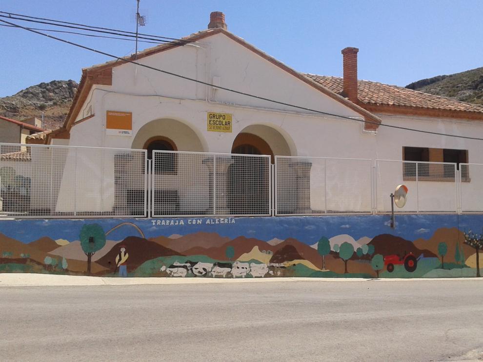 Escuela de Tierga, que cerrará el próximo curso