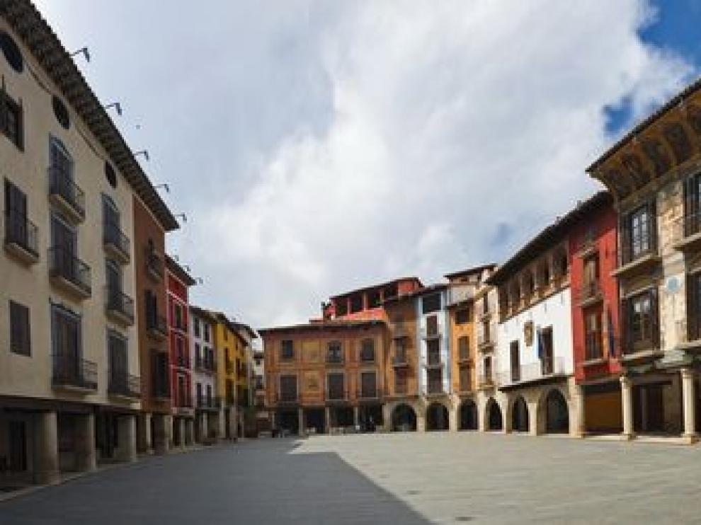 Plaza Mayor de Graus, segundo lugar más votado en el concurso de la Guía Repsol