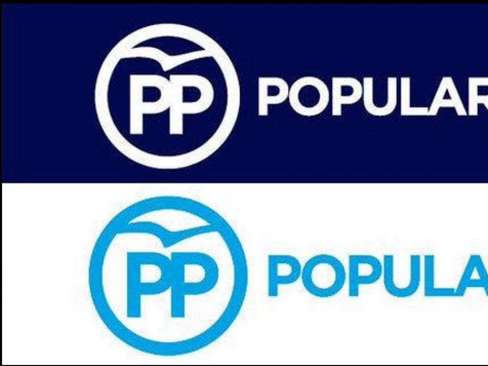 Nuevo logotipo del PP