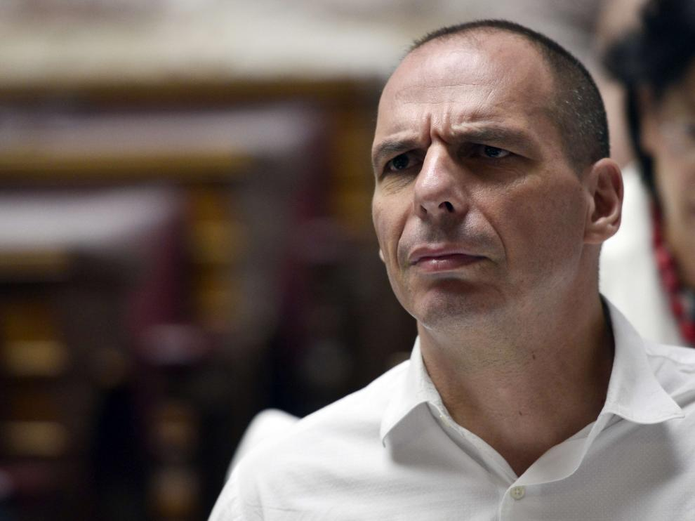 El exministro griego Yanis Varoufakis.