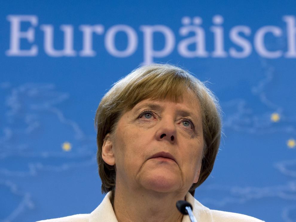 La canciller alemana, Angela Merkel.