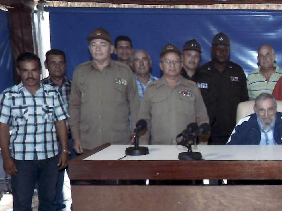 Fidel Castro en una imagen de archivo