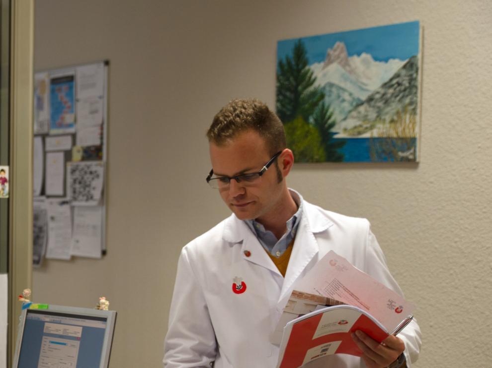 Pablo Obis Pastor, del Departamento de Comunicación del Hospital San Juan de Dios de Zaragoza.