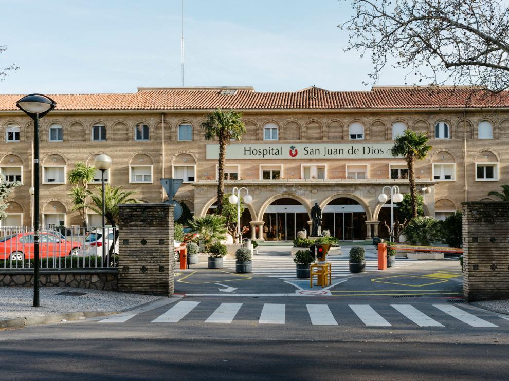 Hospital San Juan de Dios de Zaragoza.