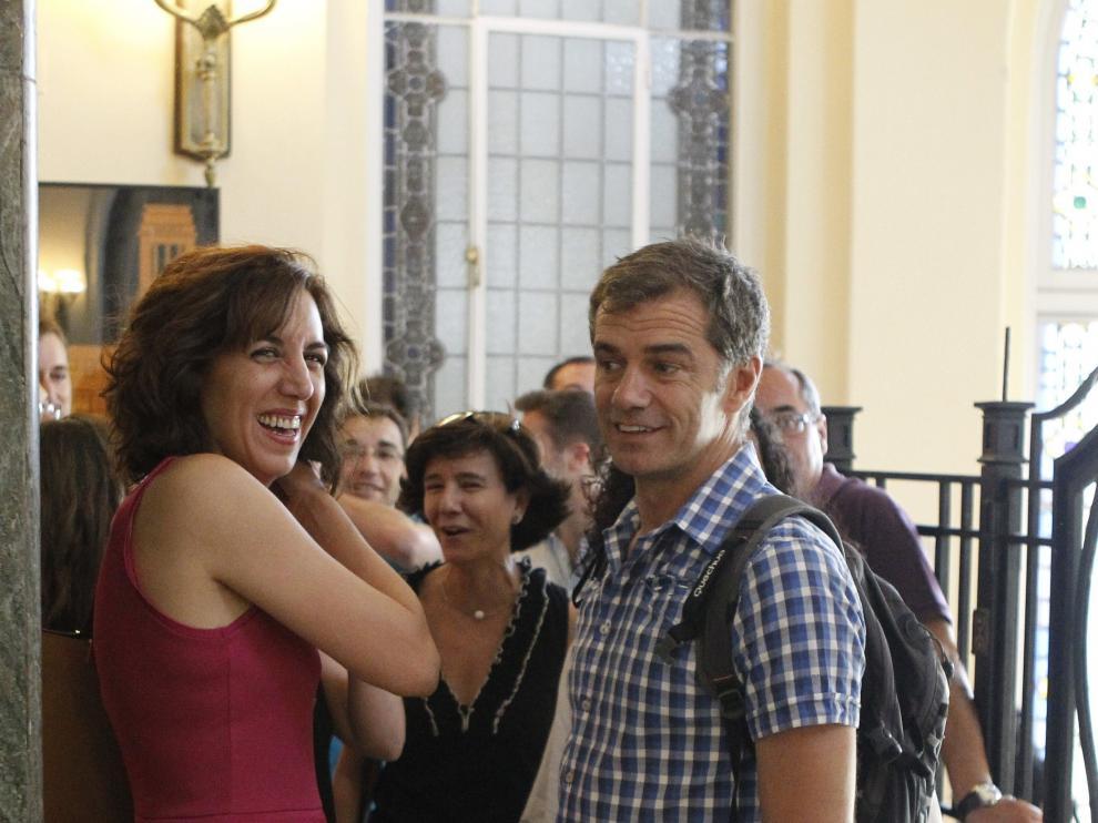 Toni Cantó e Irene Lozano