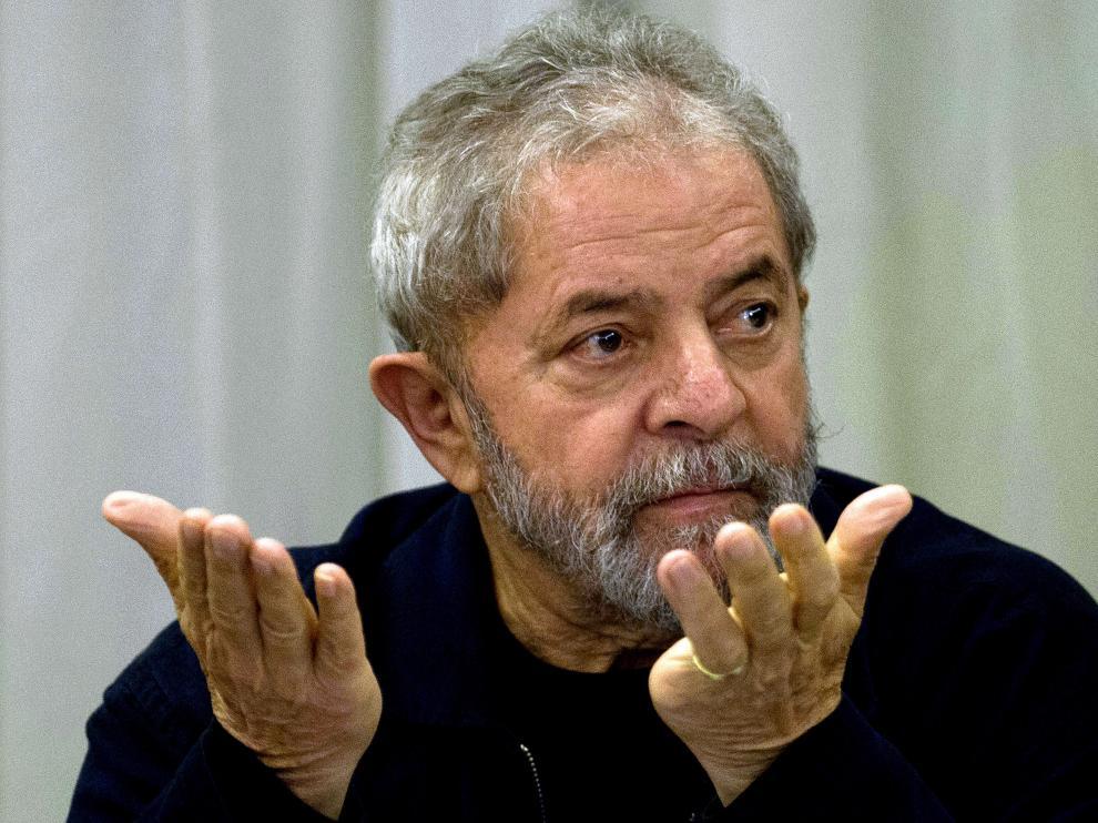 Imagen de archivo del expresidente brasileño Lula Da Silva.