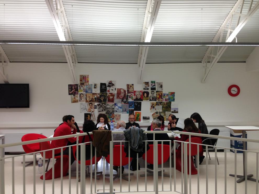 Reunión de los responsables de Zaragoza Activa.