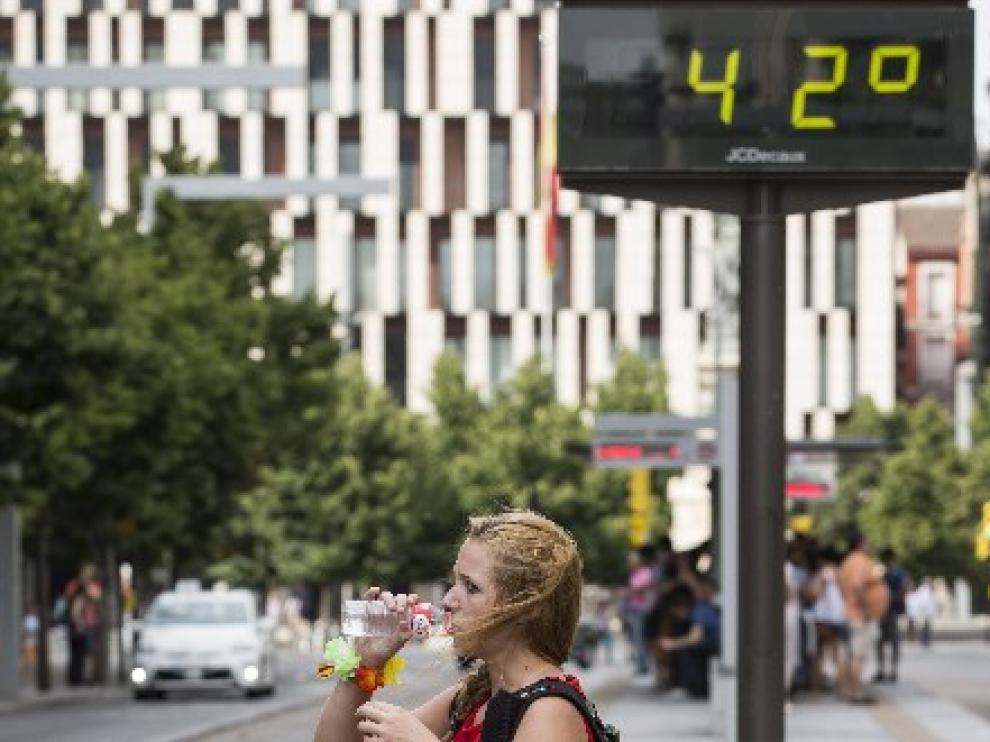 Estos días los termómetros han superado los 40 grados