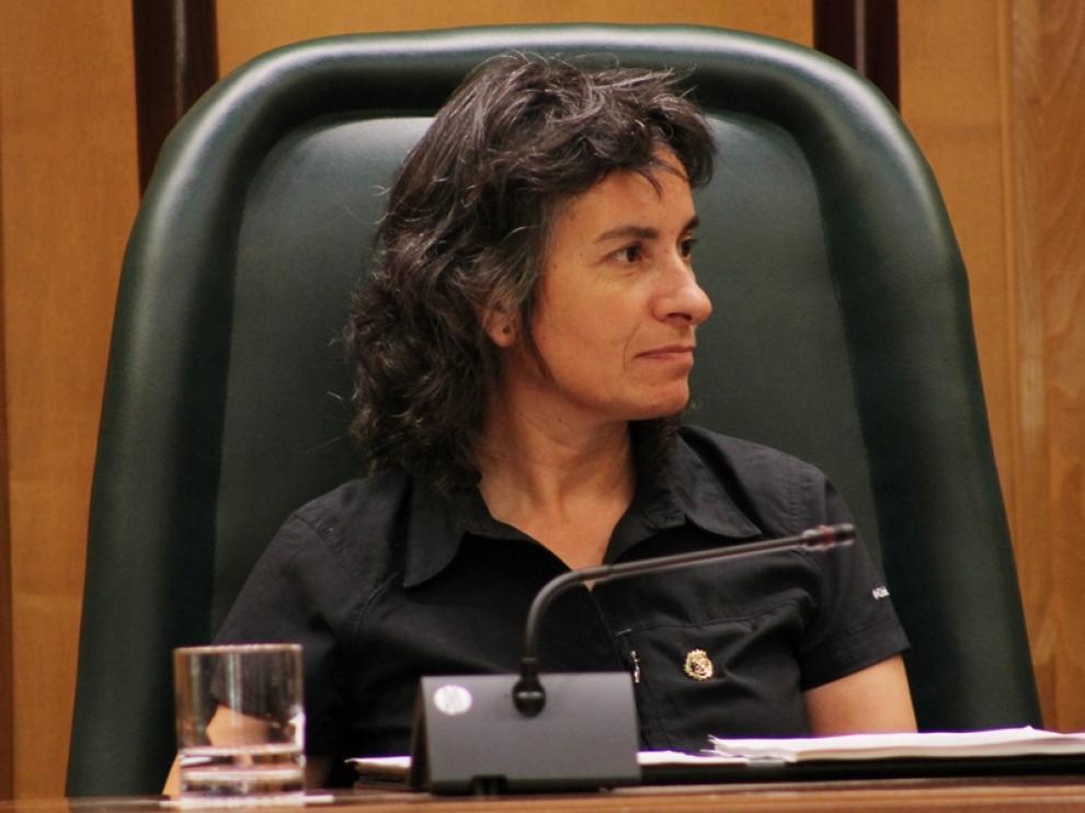 La consejera municipal de Servicios Sociales de Ayuntamiento de Zaragoza, Luisa Broto, en imagen de archivo.