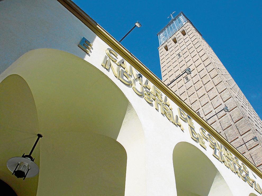 Sede de la Cámara de Comercio e Industria de Zaragoza en la capital aragonesa.