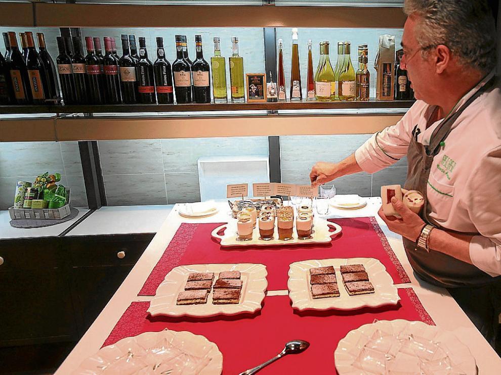 El establecimiento de Ascaso en Huesca, cuyo producto estrella es el Pastel Ruso.
