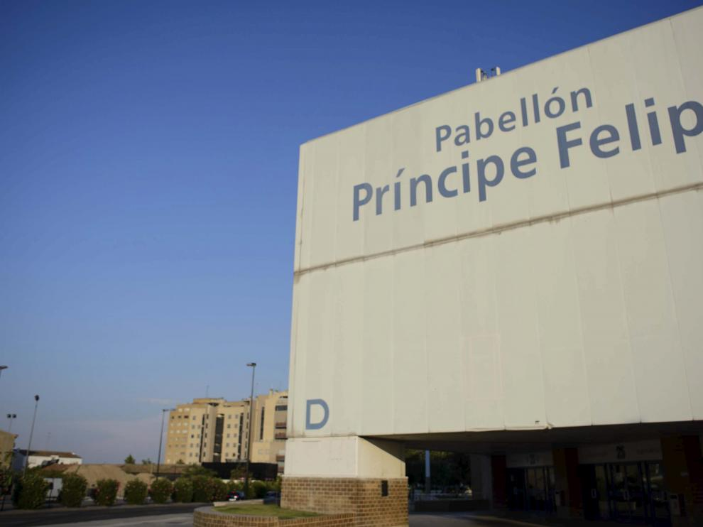 El Pabellón Príncipe Felipe de Zaragoza.